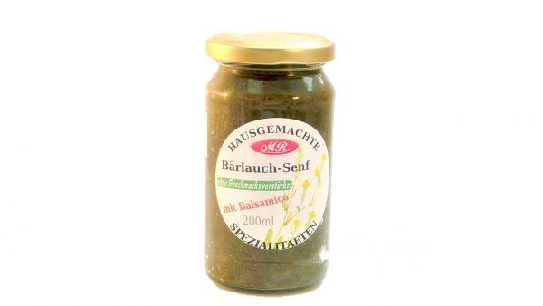 Bärlauch Senf