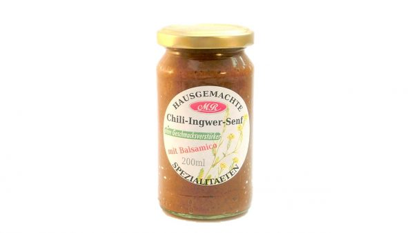 Chili Ingwer Senf