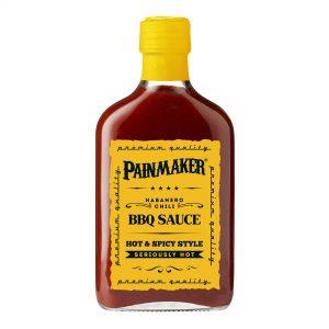 Painmaker Habanero Chili BBQ Sauce