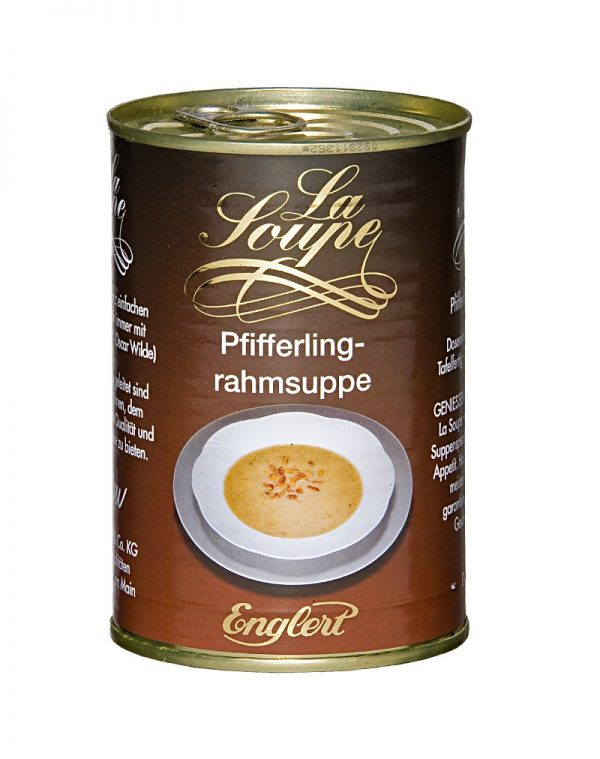 Pfifferlingrahmsuppe