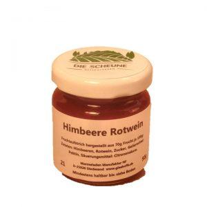 Himbeere Rotwein