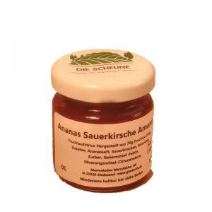 Ananas Sauerkirsche Amaretto