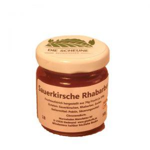Sauerkirsche Rhabarber