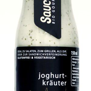 Joghurt Kraeuter Sauce