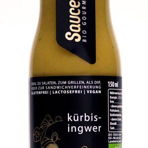 kuerbis ingwer sauce