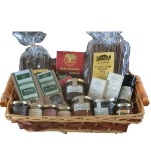 Geschenkkorb Schokoladen King