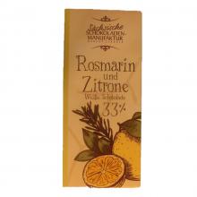 weiße schokolade rosmarin zitrone
