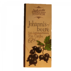 zartbitterschokolade johanisbeere