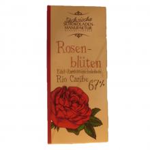 zartbitterschokolade rosenbluete