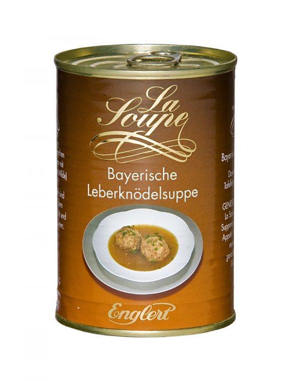 Bayerische Leberknoedelsuppe