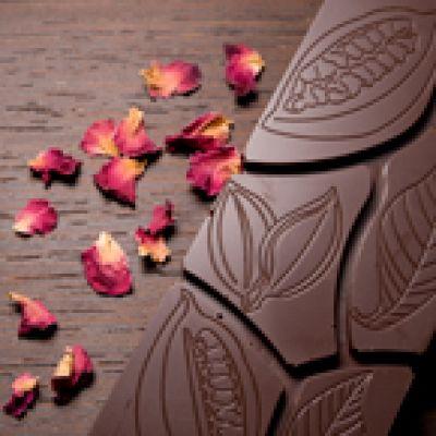 Edelvollmilchschokolade Rosenblüte 47% Rio Caribe