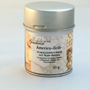 Americo Grill Gewürzzubereitung mit Rum Aroma