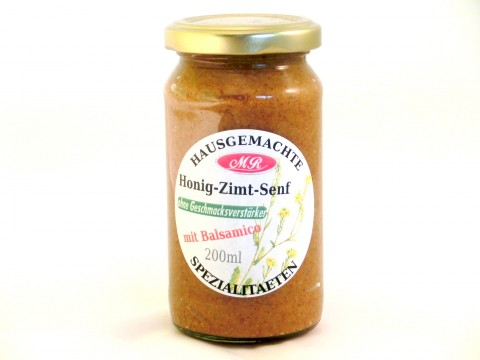 Honig-Zimt-Senf - süß-mittelscharf