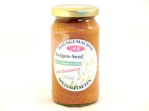 Feigen-Senf - süß-mittelscharf
