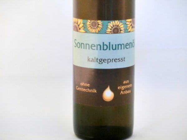Sonnenblumenöl kaltgepresst