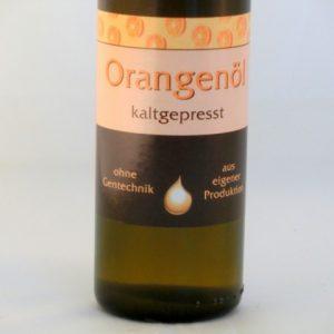 Orangenöl kaltgepresst