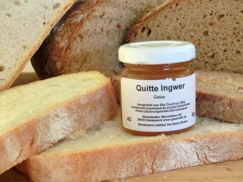 Quitte Ingwer Gelee