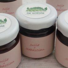 Marmelade mit individuellem Rezept und Label