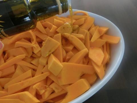 Rezept für Kürbis mit Mediterranem Öl