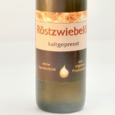 Röstzwiebelöl kaltgepresst