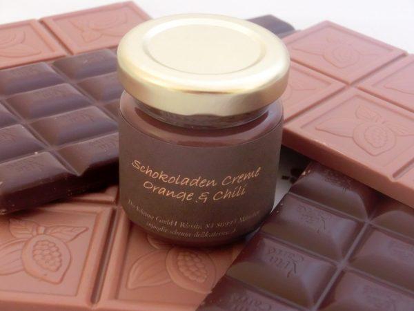 Schokoladen Creme Orange & Chili MHD 13. März 2014