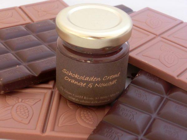 Schokoladen Creme Orange & Nougat & Cointreau MHD 13.März 2014