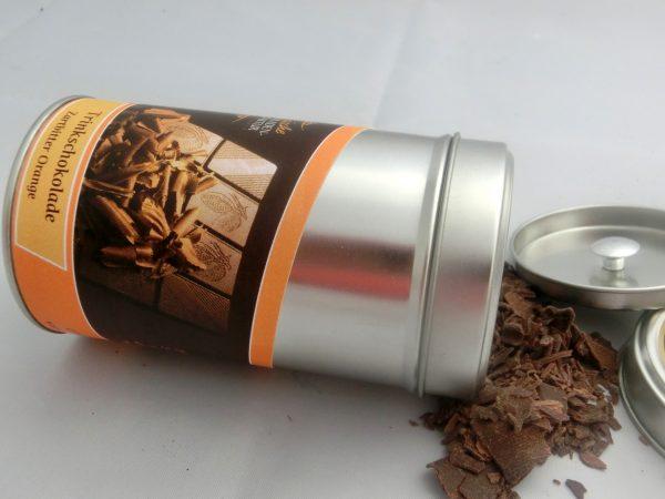 Trinkschokolade Zartbitter 60% mit Orange