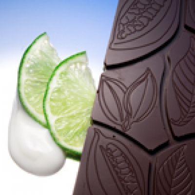 Zartbitterschokolade Limone und Joghurt