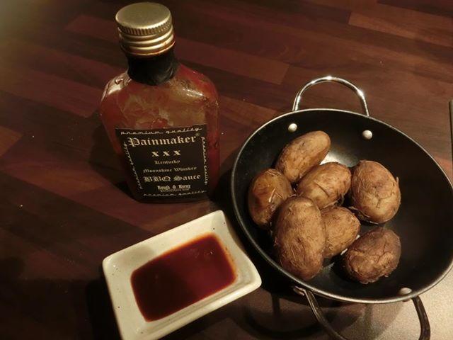 Amrumer Kartoffeln mit BBQ Sauce