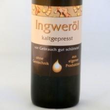 Ingweröl kaltgepresst