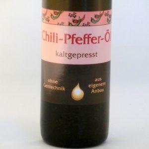 Chili-Pfeffer-Öl kaltgepresst