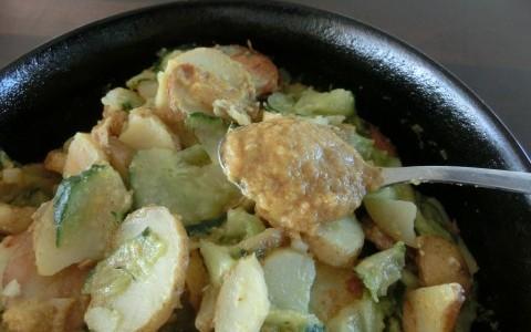 Orangensenf zum Kartoffelsalat