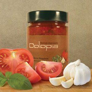 Tomatensauce Mediterran mit Basilikum und Knoblauch