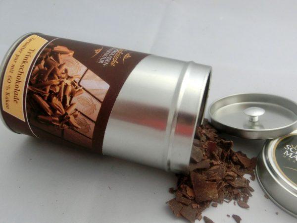 Trinkschokolade Zartbitter 60