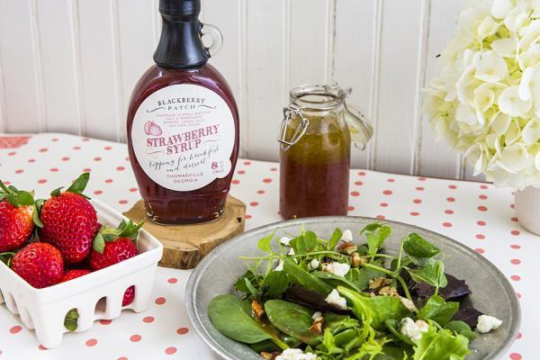 Rezept für Vinaigrette mit Himbeersirup