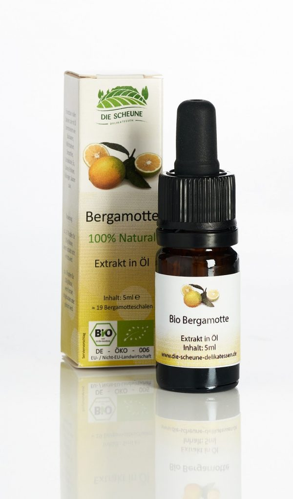 Bergamotte Aroma Extrakt 100% natürlich Bio