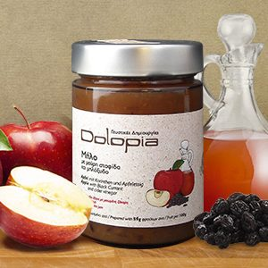 Apfel Fruchtaufstrich mit Korinthen