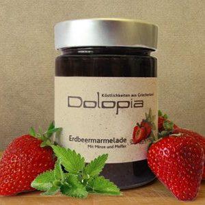 Erdbeer Fruchtaufstrich Pfeffer & Minze
