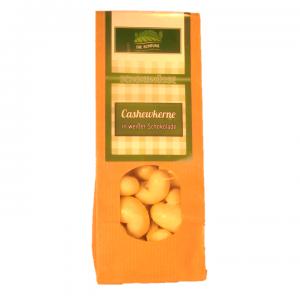 Cashewkerne in Weißer Schokolade