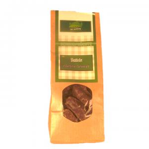Datteln in Zartbitterschokolade
