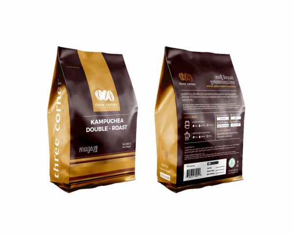 Kaffee aus Kambodscha Double Roasted Three Corner Coffee Roasters