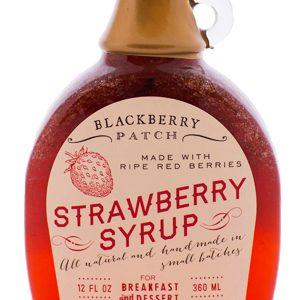 Erdbeer Sirup