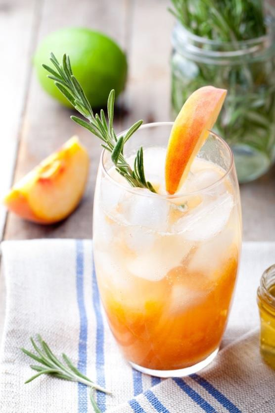 Rezept für Pfirsichnektar