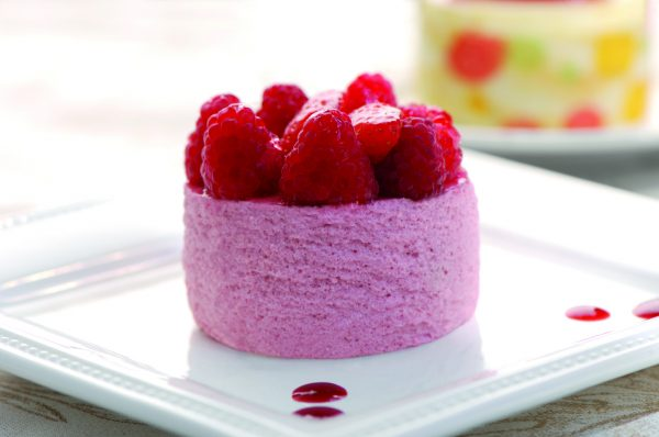 Himbeer Mousse