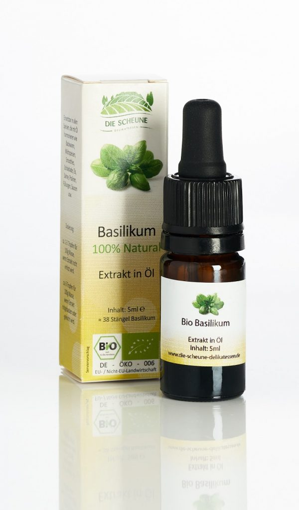 Bio Basilikum Aroma Extrakt natürlich