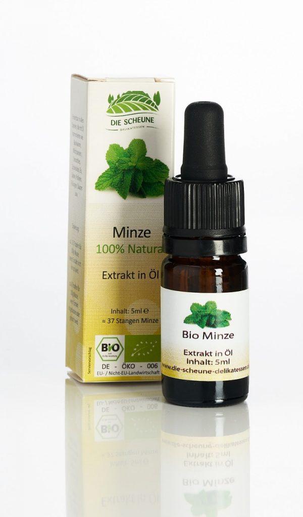 Minze Aroma Extrakt 100% natürlich Bio