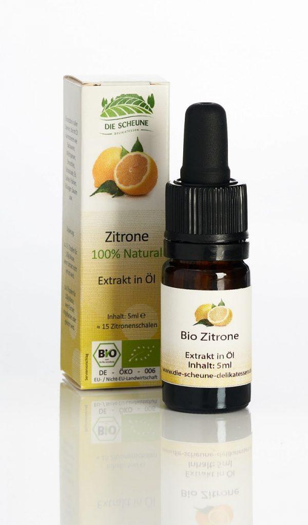 Zitronen Aroma Extrakt 100% natürlich Bio
