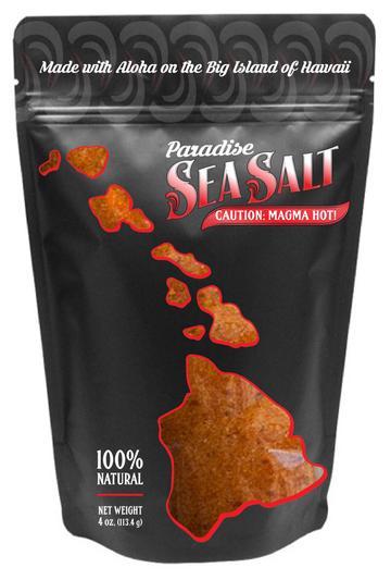 Salz aus Hawaii rot