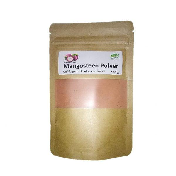 Mangosteen Pulver