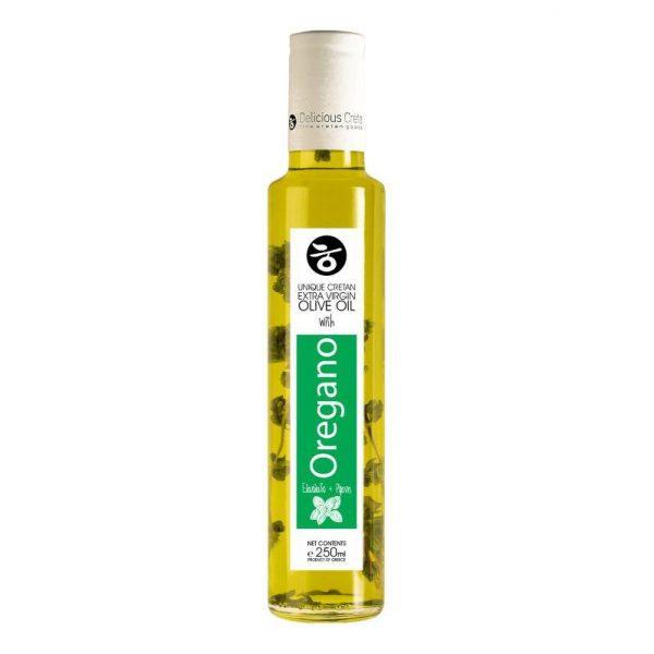 Natives Olivenöl extra mit Oregano aus Griechenland